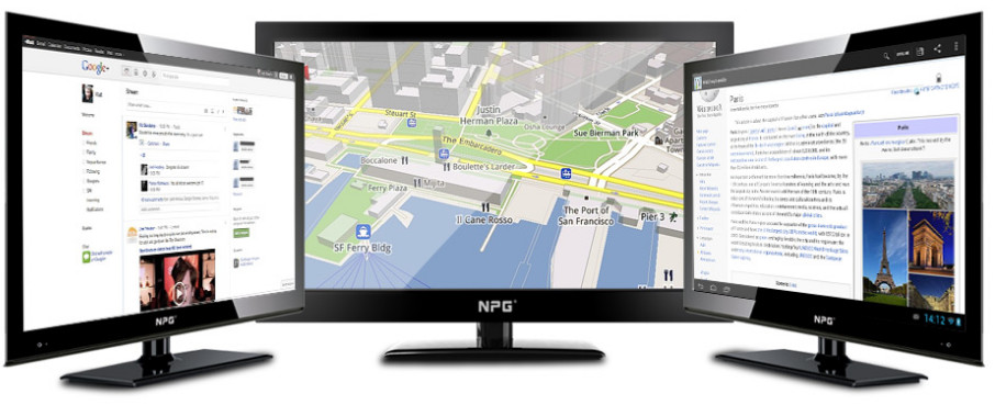 NPG SMART TV NAVEGACION