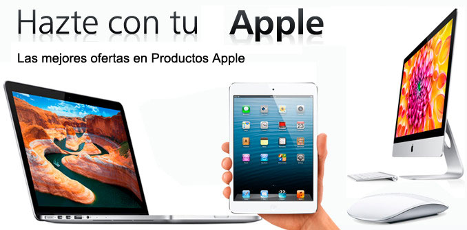 Apple,Ofertas en iMac, iPhone, Mac