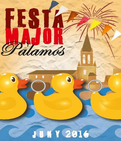 Festa Major de Palamós 2016. Tancat del 23 al 27 de Juny