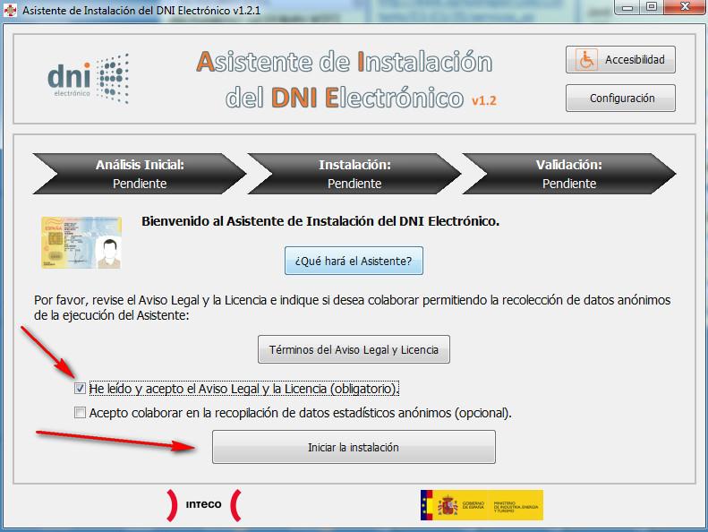 Manual para instalar el DNI electrónico