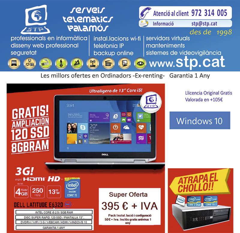 "Super Oferta Portatil 13"" Dell E6320 Core5 Disc ultra rapid SSD, 8 GB i 3G"