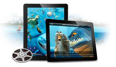 tablet android video