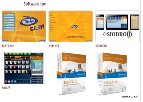Productes TPV, Android. Windows. Impresores Tiquets. Sioges, Siodroid