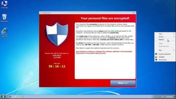 """Virus """"Correus"""" que codifica els teus arxius i exigeix un rescat econòmic"""