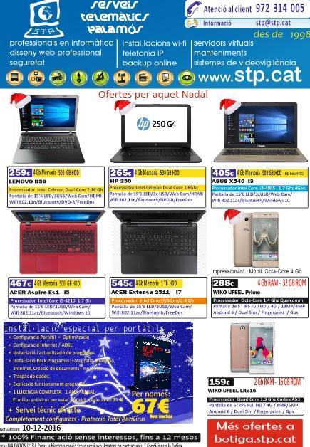 Ofertes de nadal en Portàtils, Mòbils, Tàblets, TV, Android, Ordinadors