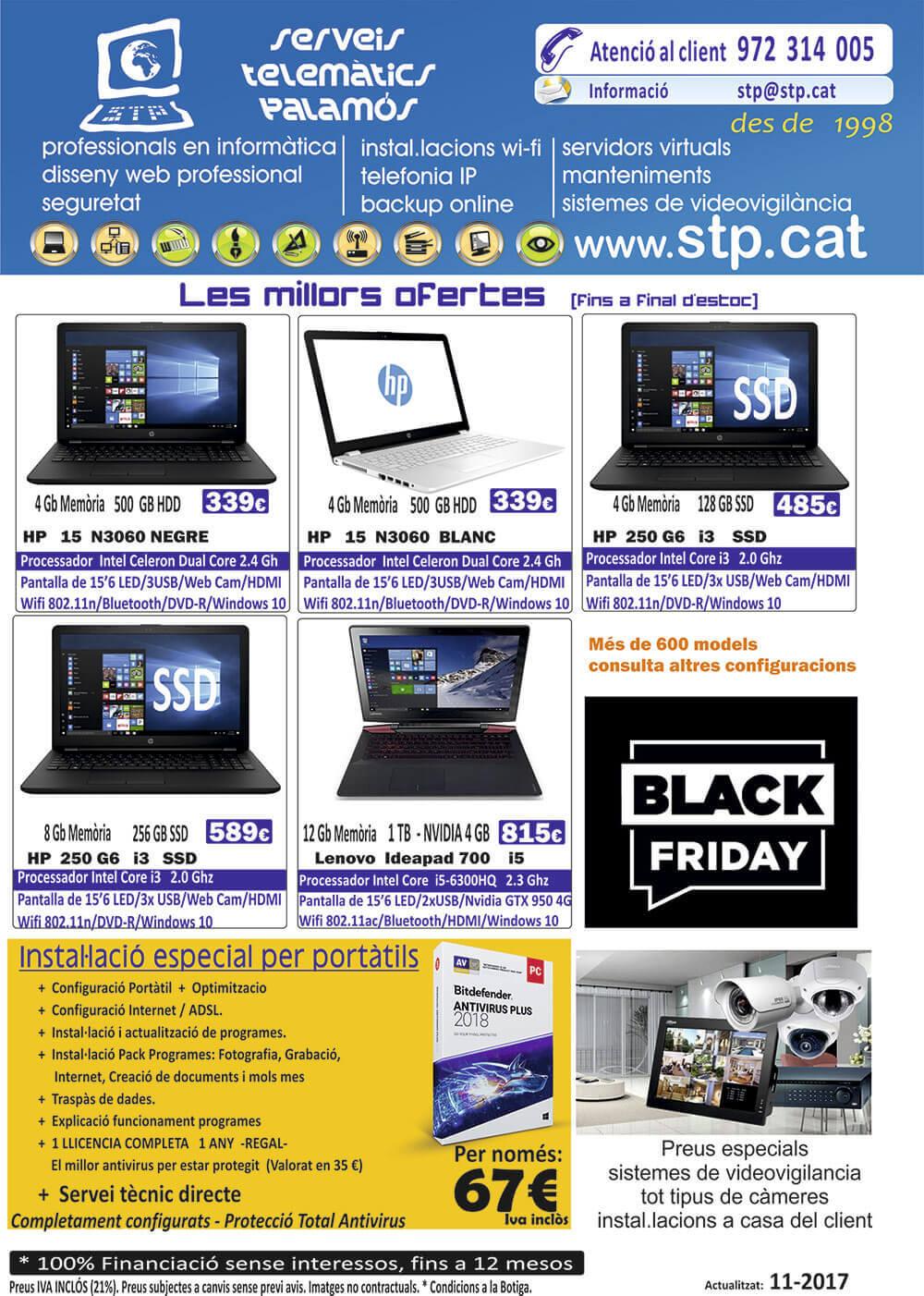 Especial ofertes Black Friday en Mòbils, Portàtils i Tablets