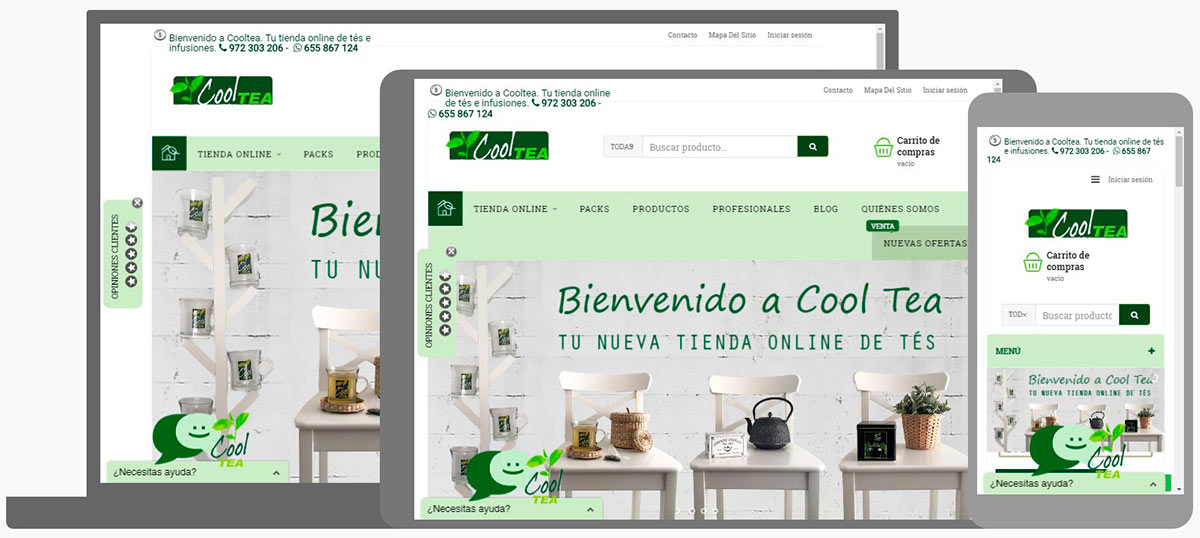 cooltea web te infusions