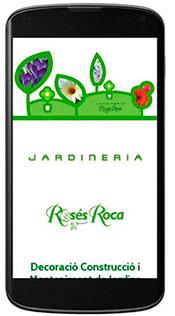 Nou Disseny Web. Jardineria Roses Roca. Disseny,construcció,decoració,manteniment de jardins