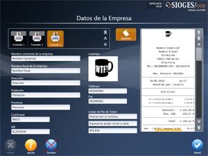 PROGRAMA TPV + SIOGES Hostelería, comercio y servicio a domicilio