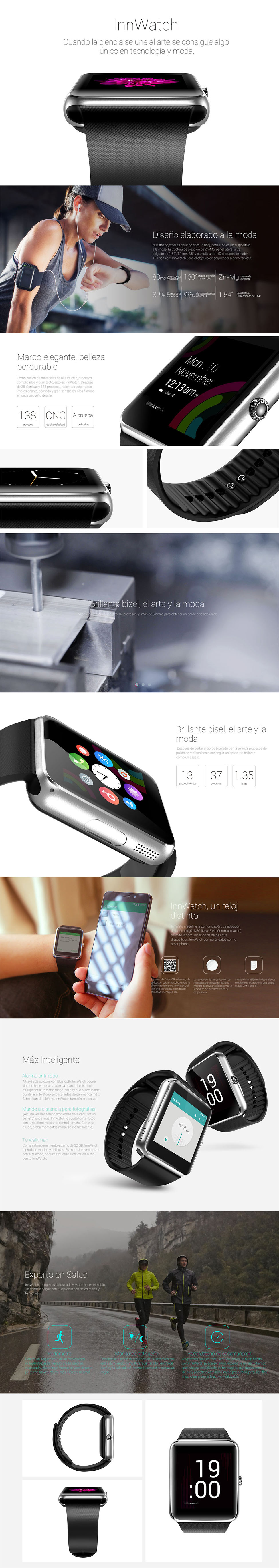 Swartwatch Rellotge amb Android, InnWatch, preu i qualitat
