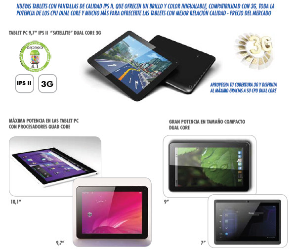 TABLETS, ANDROID TV, TECLATS TACTILS MINIS, E-BOOK, MP4, MP3 FM, AURICULARS, WEBCAM, ALTAVEUS, FUNDES, TRANSFORMADORS PORTATILS, CABLES, USB