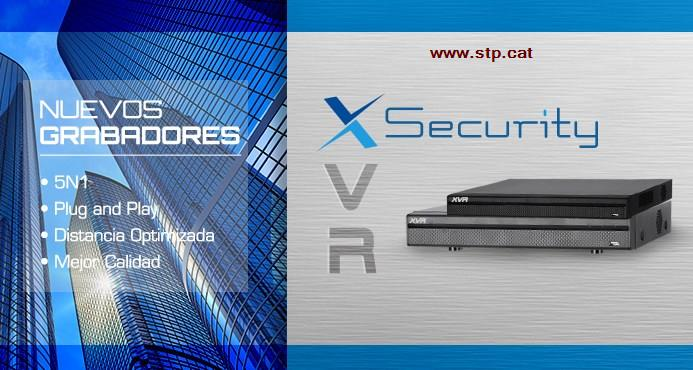 nuevos grabadores x security 1