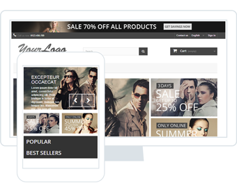 store attractive promotional banners prestashop