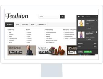 store builder powerful navigation prestashop