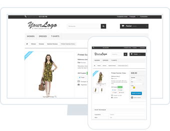 store builder product prestashop
