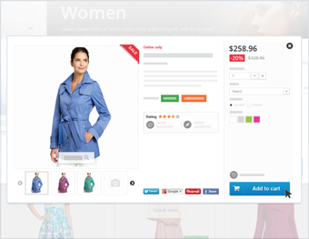store builder quick view prestashop